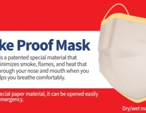 Smoke proof mask